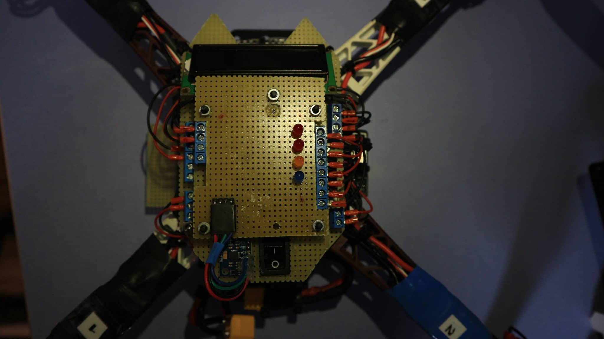 Imagen de montaje del drone arduino