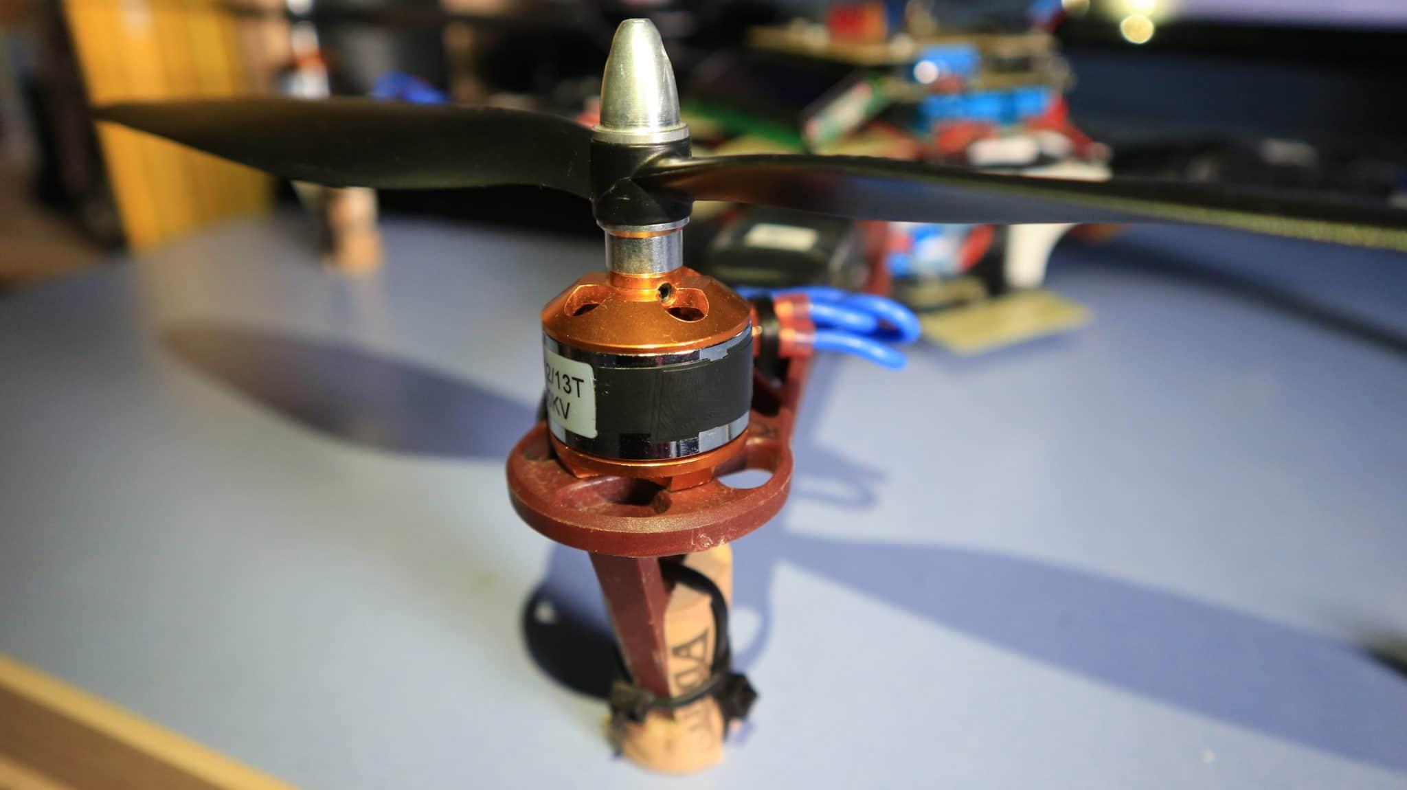 Calibración de motor. Arduino drone.