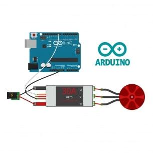 Motores, ESC y su programación en Arduino (sketch)