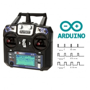 Mando RC y receptor. Programación en Arduino (sketch)