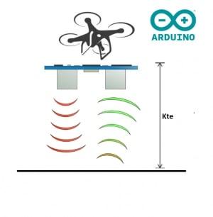Control de altitud con HC-SR04 (altitude hold) | Drone Arduino