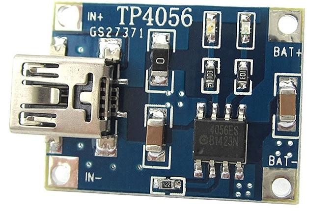 Cargador de baterías TP4056. Arduino