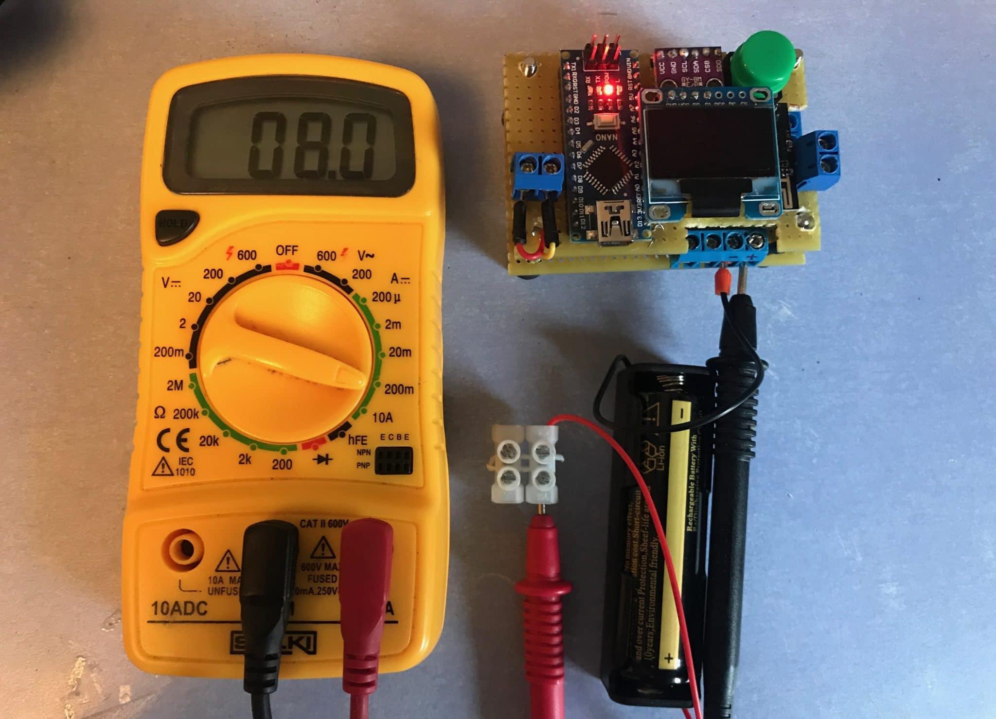 ESP8266-01 Arduino, consumo