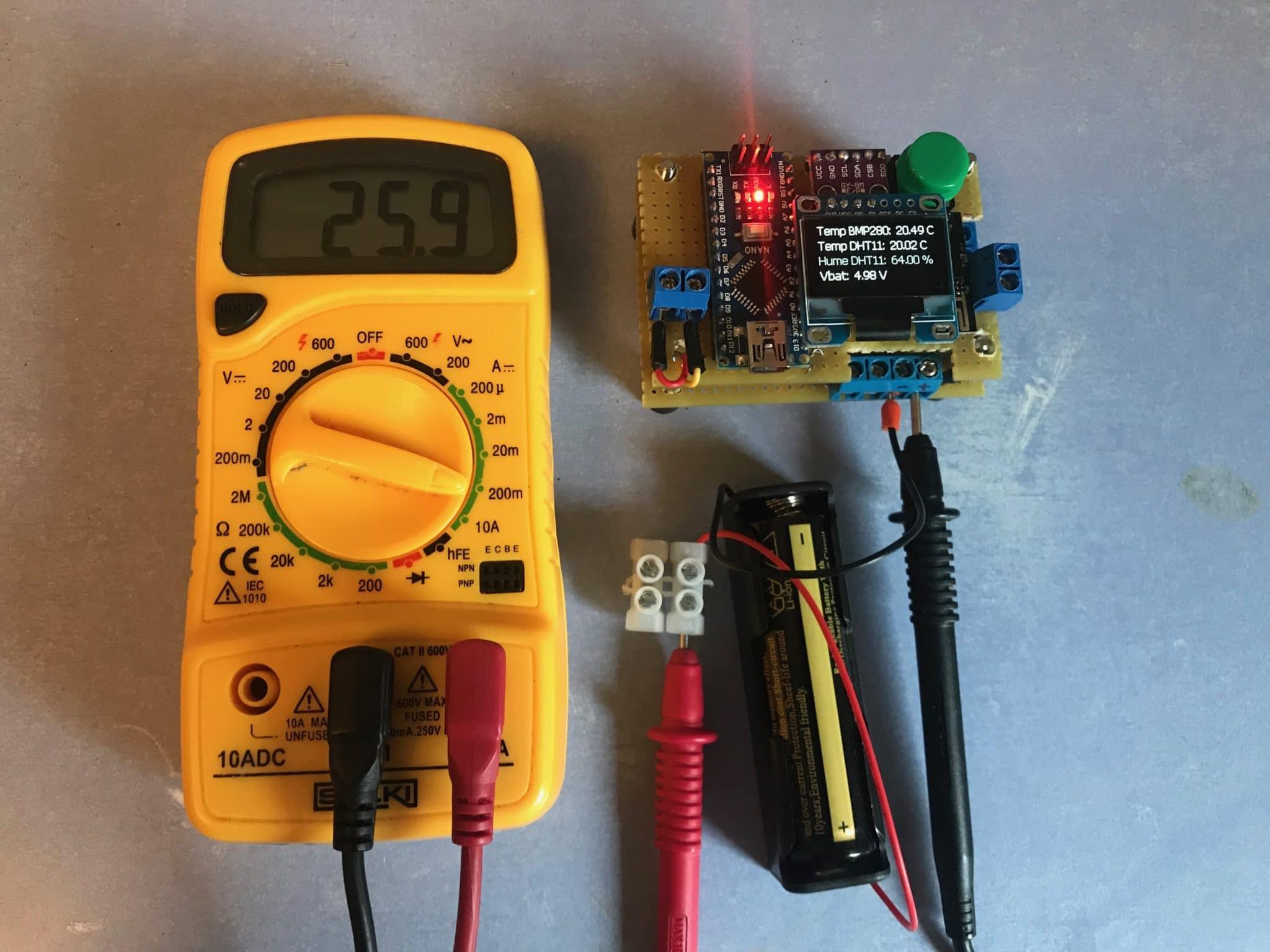 Estación meteorológica WIFI. Arduino + ESP8266-01 + ThingsPeak.com
