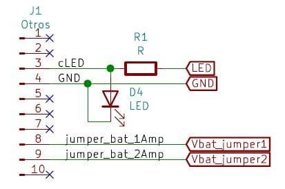 Boya Iridium con Arduino   Conector auxiliar, PCB inferior