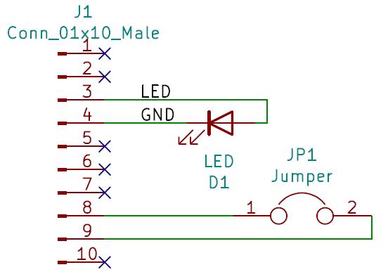 Boya Iridium con Arduino   Conector auxiliar, PCB superior