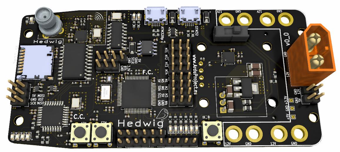 Curso diseño PCB | Controlador de vuelo con Arduino
